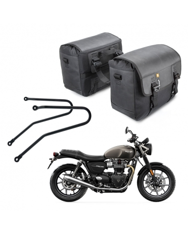 SADDLEBAGS DUO-36 COMBO - TRIUMPH FIT