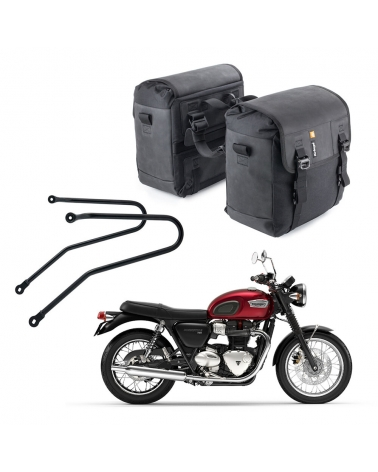 SADDLEBAGS DUO-28 COMBO - TRIUMPH FIT