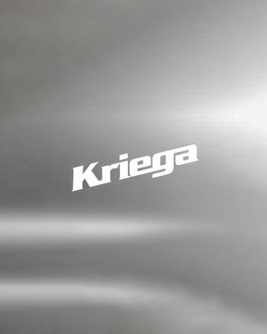 KRIEGA STICKERS WHITE